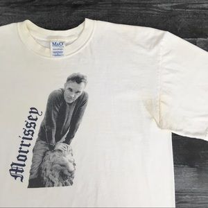 2002 Morrissey The Smiths Band T-shirt